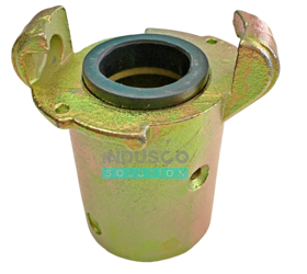 CQT type metal coupling for the sand blasting/shot blasting hose