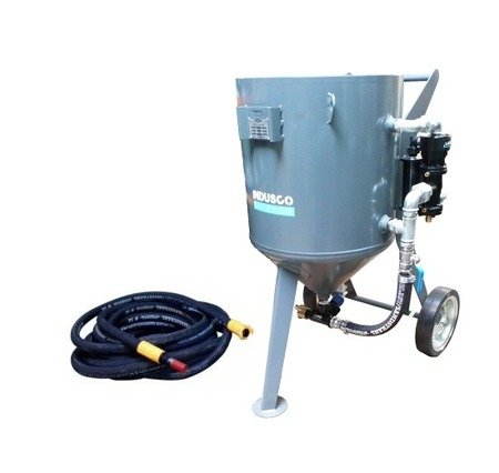 BASIC remote controlled sand blasting package 150L
