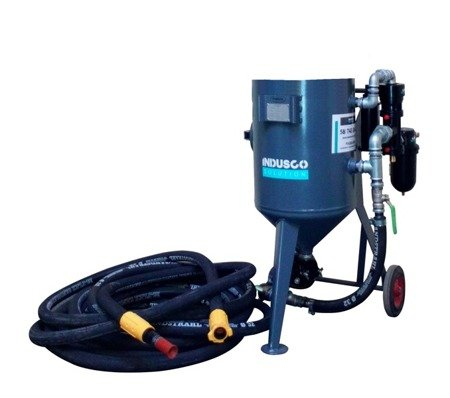 BASIC remote controlled sand blasting package 50L