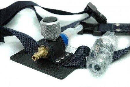 Breathing air regulating system ReS-URG/n for helmet