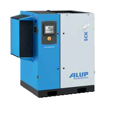 Compressor ALUP SCK 25 and ECONOMIC blasting package 100L