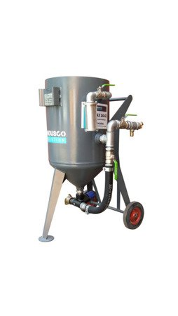 Manual controlled sand blasting machine 50L