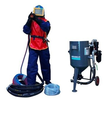 STANDARD remote controlled sand blasting package 50L